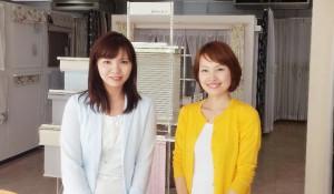 リポーターの大沢さんと☆ 声もきれいで素敵でした。